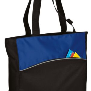 Improved Two Tone Colorblock Tote Thumbnail